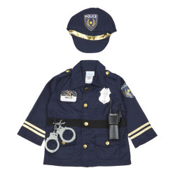 Creative Education Police Kit with Accessories