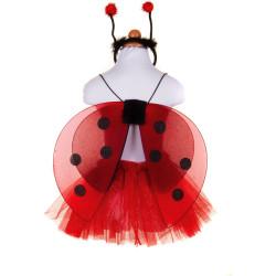Creative Education Glitter Ladybug Tutu Set