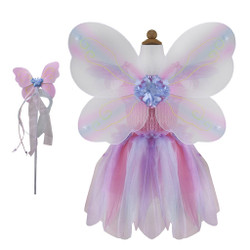 Creative Education Pink Dress with Wings & Wand