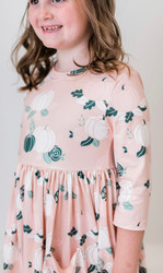 Mila & Rose Pick of the Patch 3/4 Sleeve Dress