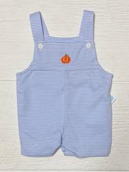 Petit Bebe Blue Knit Pumpkin Jon Jon