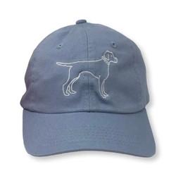 Honey Bee Tees Light Blue Bird Dog Hat