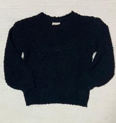 Hayden Black Popcorn Sweater