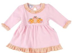 Magnolia Baby Sweet Lil Pumpkin Collared Dress