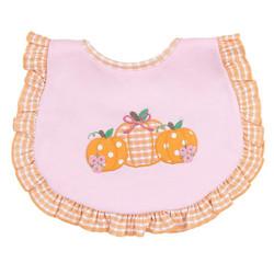 Magnolia Baby Sweet Lil Pumpkin Ruffle Bib
