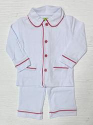 Be Mine White/Red Boys Loungewear