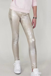 Tractr Champagne Pull On Pant