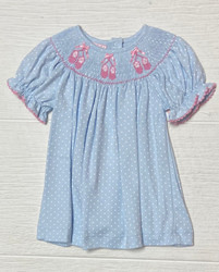Petit Bebe Knit Ballet Slippers Bishop