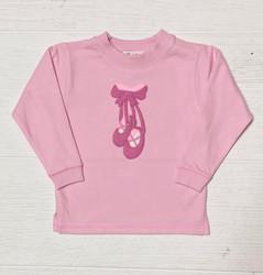 Lily Pads Pink Ballet Slippers Crew Sweatshirt