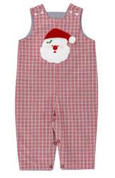 Bailey Boys Red Plaid Santa Reversible Jon Jon