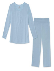 Magnificent Baby Cool Blue Nursing PJ Set