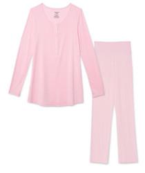 Magnificent Baby Pink Nursing PJ Set