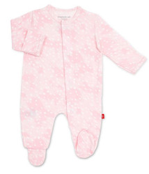 Magnificent Baby Pink Doeskin Modal Footie