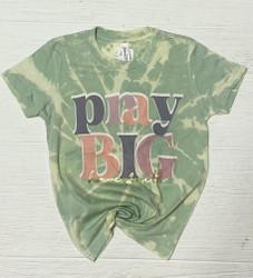 "Pink Armadillos Bleached ""Pray Big Have Faith"" Tee"