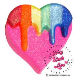 Fizzy Bath Love Melt My Heart