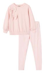 Habitual Pink Bows Pullover Pant Set