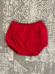 Lily Pads by Acvisa Red Knit Boy Diaper Cover
