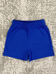 Lily Pads by Acvisa Royal Blue Plain Short