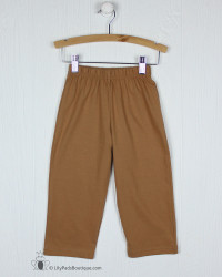 Lily Pads by Acvisa Camel Knit Pant
