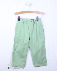 J Bailey Olive Twill Pant