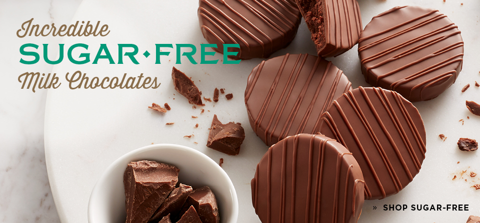 Incredible Sugar Free Milk Chocolates