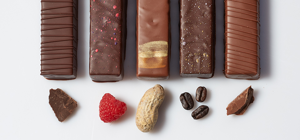 Image of chocolate bar varieties