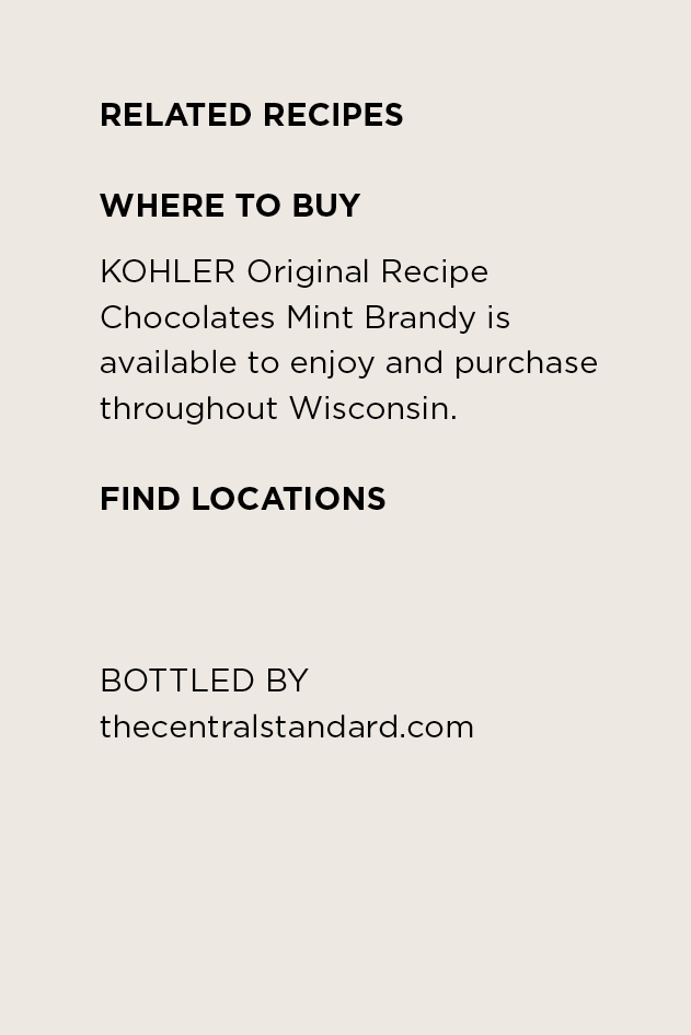 Where to Buy KOHLER Original Recipe Mint Brandy