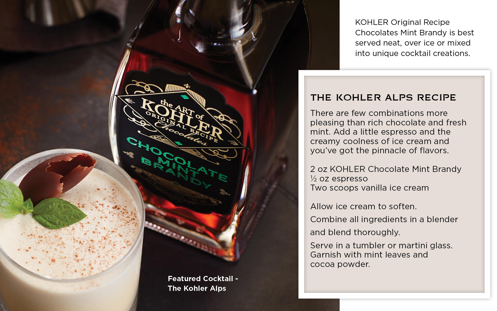 Kohler Original Recipe Mint Brandy – The Kohler Alps