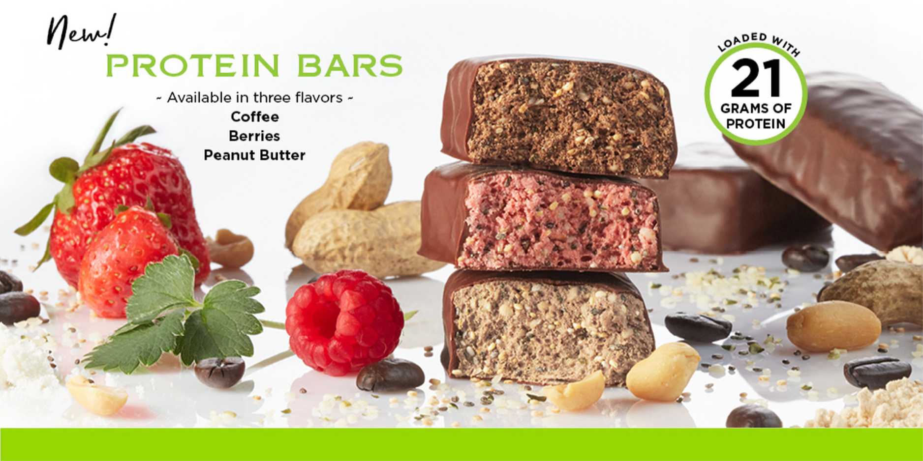 Protein Bars - Available in three flavors!