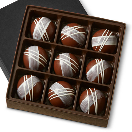 CRÈME FRAICHE GARDEN GANACHE Nine Pieces in a gift box