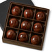 HAZELNUT COFFEE GARDEN GANACHE Nine Pieces in gift box