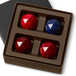 VARIETY RARE FACETS Four Pieces in a gift box