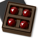 POMEGRANATE RARE FACET Four Pieces in a gift box