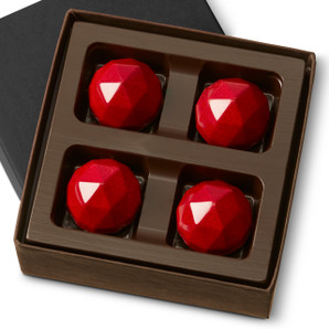 SOUR CHERRY RARE FACET Four Pieces in a gift box