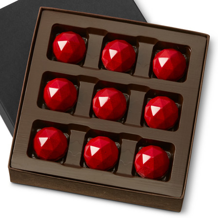 SOUR CHERRY RARE FACET Nine Pieces in a gift box