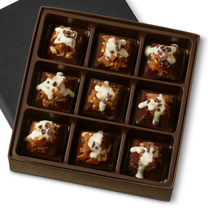 DARK MOUNTAIN TOFFEE Nine Pieces in a gift box