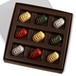 VARIETY HOLIDAY CARAMELS Nine Pieces in a gift box