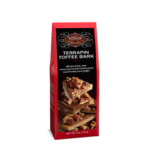 TERRAPIN TOFFEE BARK Four Ounces