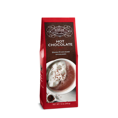 Created with a traditional European drinking chocolate in mind, our new Hot Chocolate combines the perfect blend of rich and creamy. Boasting 55% dark chocolate and cocoa powder, it's not too dark and not too sweet. Making for one decadent cup of cozy.