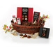 Basket Includes: VARIETY TERRAPINS Thirty-Two Pieces, CAFFÉ & CREAM Four Pieces, DARK CHOCOLATE CHERRY ALMOND One and One Half Ounces, DARK TOFFEE BARK Four Ounces, SAVORY DARK CHOCOLATE One and One Half Ounces