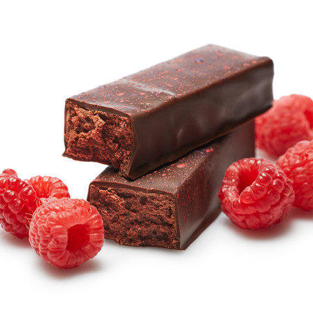 DARK CHOCOLATE RASPBERRY BARS