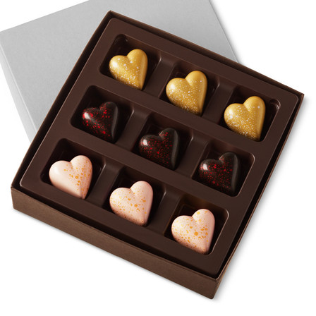 THE LOVE COLLECTION Nine Pieces in a gift box
