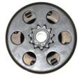 "Clutch, 11T Doodlebug Clutch 97cc 16mm(5/8"") Mini Bike Baja Motorsports Dirt Bug Blitz"