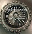 Wheel & Tire Combo - For 110cc 125cc 250cc Dirt Bikes 80x100-12 Dirt Bike Apo...
