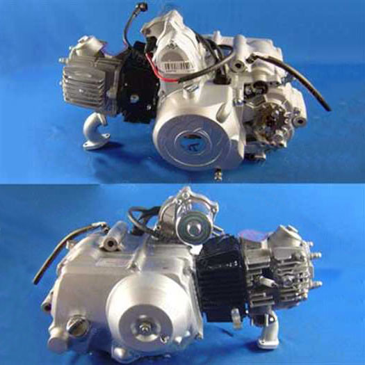 (04) 110cc 4-Stroke Automatic Chinese ATV Engine (Forward-N-Reverse)