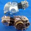 (18) 50cc Chinese Dirt Bike Engine Broncho 50cc Automatic Clutch gear, w/kick start