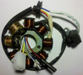 (#03) 8-Coil Magneto Stator GY6 50cc Scooter Moped Alternator