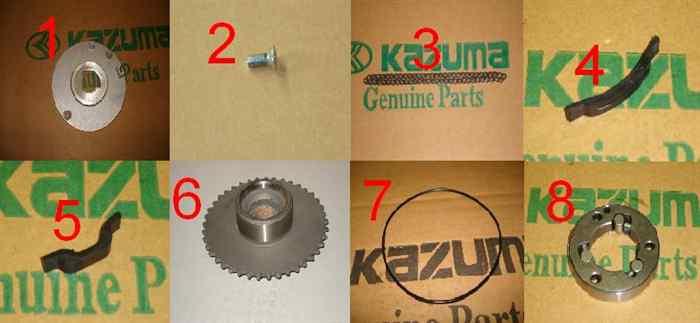 Starter Chain Guides for Kazuma Falcon 110 ATVs