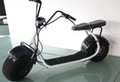 shopatvparts - FAT TIRE SCOOTER Electric Scooter BLACK, 60V 12A, 800W With Advanced Lithium Ion Battery