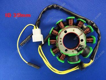 Magneto Stator SCOOTER ATV Go Kart Dirt Bike 11 Coil For (CH- 125cc-A)